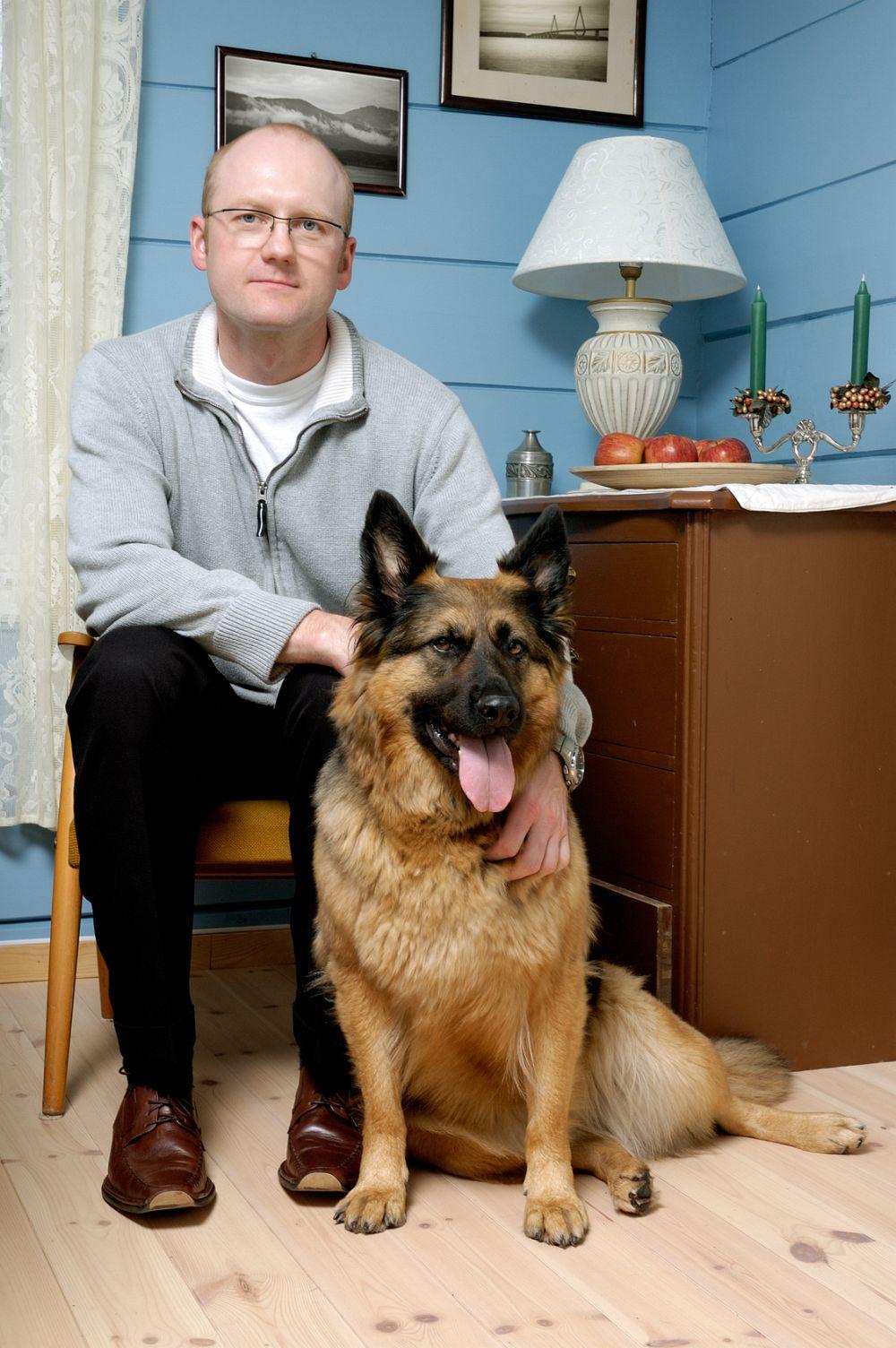 Schäferhund als Therapiehund
